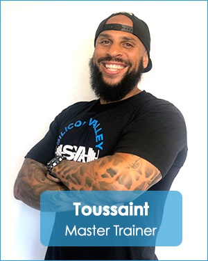 Toussaint Master Trainer Silicon Valley Athletics Personal Training & Coaching